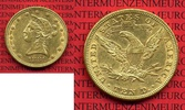 USA 10 Dollars Goldmünze Eagle Coronet Head 1881 sehr schön USA 10 Dolla... 740,00 EUR