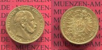 Preuen, State of Prussia German Empire 10 Mark Goldmnze Kursmnze Preuen 10 Mark Gold 1872 C J. 242 Wilhelm I.