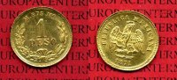 Mexico 1 Peso Goldmünze Mexico 1 Peso 1871 Goldmünze Republica Mexicana
