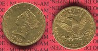 USA 10 Dollars Liberty Frauenkopf Eagle USA 10 Dollars Liberty, Frauenkopf, 1902  Coronet Head Gold