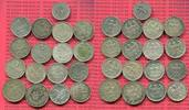 Lot  17 x Kursmünzen 1, 2 Mark 50 Pf. 1924 Weimarer Republik Deutsches ... 200,00 EUR  +  8,50 EUR shipping