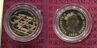 Cook Islands 100 Dollars Gold 1990 Polierte Platte mit Zertifikat Cook I... 175,00 EUR