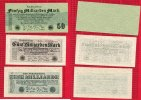 Inflation Dt. Reich 1919 - 1924 Lot 1, 5, 50 Milliarden Mark  1923 I- bi... 18,00 EUR
