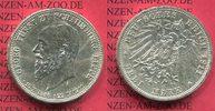 Schaumburg Lippe 3 Mark Silber Gedenkmünze Commemorative Schaumburg Lippe 3 Mark 1911, Auf den Tod von Fürst Georg, J. 166