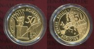 Belgien, Belgium 50 Euro Gold Goldcoin Com...