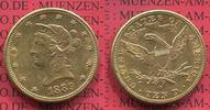 USA 10 Dollars Goldmünze Eagle Coronet Head 1889 ss  USA 10 Dollars Libe... 745,00 EUR