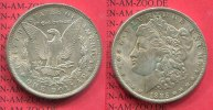 USA 1 Dollar Morgan Typ 1885 O vz-prfr. US...