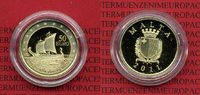 Malta 50 Euro Gold 2011 Polierte Platte* m...