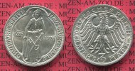 Weimarer Republik Deutsches Reich 3 Mark Silber Gedenkmünze Commemorativ... 165,00 EUR