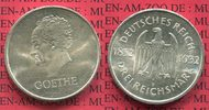 Weimarer Republik Deutsches Reich 3 Mark Silber Gedenkmünze Commemorativ... 115,00 EUR