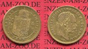 sterreich Ungarn 10 Fr. 4 Forint Goldmnz...
