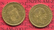sterreich Ungarn 10 Fr. 4 Forint Goldmnze keine NP ! sterreich, Ungarn 10 Fr. 4 Forint 1872 Goldmnze keine Neuprgung