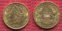 USA 20 Dollars Gold Double Eagle Coronet H...