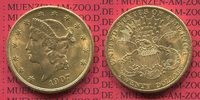 USA 20 Dollars Gold Double Eagle Coronet Head 1907 f. vz USA 20 Dollars ... 1299,00 EUR