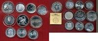 Lot Euro Silber, 10 Münzen 2002 ff Niederlande, Spanien, Portugal, Finl... 140,00 EUR119,00 EUR  excl. 8,50 EUR verzending