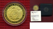 Bundesrepublik Deutschland, Germany FRG 100 Euro Gold, 1/2 Unze Germany Currency Union 2002 Commemorative 100 Euros Gold 1/2 Ounce Gold