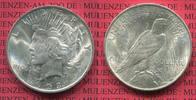 USA 1 Dollar Peace Typ Silber USA 1923 1 Dollar Peace Typ Silber