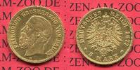 Baden, German Empire State of Baden 5 Mark Goldmünze 1877 sehr schön - v... 675,00 EUR