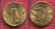 USA 20 Dollars St. Gaudens Double Eagle USA 20 Dollars 1928 Gold St. Gaudens Typ Double Eagle