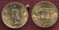 USA 20 Dollars Gold St. Gaudens Double Eag...