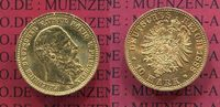 Preußen, State of Prussia German Empire 10 Mark Goldmünze Preußen 10 Mark Gold 1888 J. 247 Friedrich III. II. Wahl !!