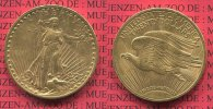 USA 20  Dollars Double Eagle Goldmünze USA 20 Dollars 1923 Gold St. Gaudens Typ,