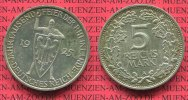 Weimarer Republik Deutsches Reich 5 Mark W...