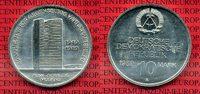 10 Mark DDR Gedenkmünze Cu/Ni 1989 DDR DDR 10 Mark 1989 40 Jahrte RGW, ... 17,00 EUR  excl. 8,50 EUR verzending