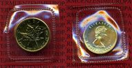 Kanada, Canada 5 Dollar Maple Leaf 1/10 Unze Gold 1987 Stempelglanz in F... 145,00 EUR