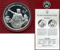 China Volksrepublik, PRC 10 Yuan Silbermünze China 10 Yuan 1991 Silber Christopher Kolumbus PP