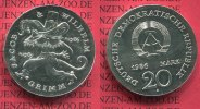 DDR Eastern Germany GDR 20 Mark Silbermünze DDR 1986 Stempelglanz DDR 20... 220,00 EUR