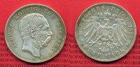 5 Mark Silbermünze 1898 Sachsen Sachsen 5 Mark 1898 König Albert Silber... 55,00 EUR