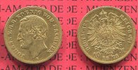 Sachsen, German Empire State of Saxonia 10 Mark Gold Sachsen 10 Mark Gold 1873 J. 257 Johann
