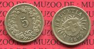 5 Rappen Kursmünze Billon 1873 Schweiz, Switzerland Schweiz 5 Rappen 18... 145,00 EUR  +  8,50 EUR shipping