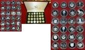 Lot von 24 Silbermünzen versch. Jahre  Fußball Motivmünzen Set PP Polie... 450,00 EUR