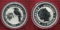 1 Dollar Kookaburra 2000 Australien 1 Unze Silber Kookaburra Stempelgla... 33,00 EUR  +  8,50 EUR shipping
