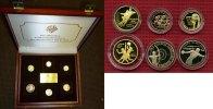 6 Goldmünzen 1990-93 China Die offiziellen Gold-Gedenkmünzen der Olympi... 1575,00 EUR  +  8,50 EUR shipping