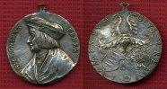 Medaille Nürnberg mit Henkel o.J.  Medaille Galvano Nachprãgung Hieroni... 65,00 EUR