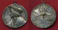 Medaille Nürnberg mit Henkel o.J.  Medaille Galvano Nachprãgung Hieroni... 65,00 EUR  +  8,50 EUR shipping