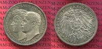 3 Mark Silber Gedenkmünze 1910 Sachsen Weimar Eisenach Sachsen Weimar E... 85,00 EUR  +  8,50 EUR shipping