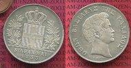 5 Drachmen Silbermünze 1833 Griechenland Greece Otto selten in dieser E... 650,00 EUR  Excl. 8,50 EUR Verzending