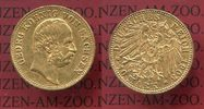 10 Mark Goldmünze Sachsen 1903 E Sachsen German Empire Kingdom of Saxon... 550,00 EUR  +  8,50 EUR shipping