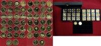 Lot von 26 vergoldeten Münzen Div. Verschiedene Länder 26 Münzen mit Ti... 350,00 EUR