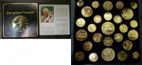 27 vergoldete Münzen Versch. Jahre Versch. Länder Das goldene Tierreich... 75,00 EUR