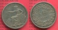 5 Franken Silber Kursmünze 1850 Schweiz, Switzerland Schweiz 5 Franken ... 445,00 EUR