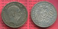 5 Mark Silbermünze 1902 Sachsen, Saxony German Empire Sachsen 5 Mark 19... 149,00 EUR  +  8,50 EUR shipping