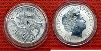 1 Dollar Känguruh Silber 1 Unze 2003 Australien Australia 1 Dollar 2003... 64,95 EUR  +  8,50 EUR shipping