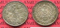 1/2 Mark 1909 E Kaiserreich 1/2 Mark Silber, 1909 E, J. 16   f. stgl. t... 70,00 EUR65,00 EUR  +  8,50 EUR shipping