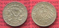 2 Mark Silbermünze Kursmünze 1904 Bremen, Kaiserreich Bremen 2 Mark 190... 115,00 EUR  +  8,50 EUR shipping