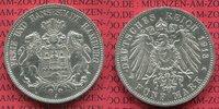 5 Mark Silbermünze 1913 Hamburg Hamburg 5 Mark 1913 J, Silber, Stadtwap... 75,00 EUR  +  8,50 EUR shipping